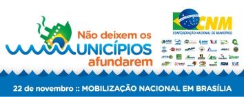 Campanha não deixe os municípios afundarem