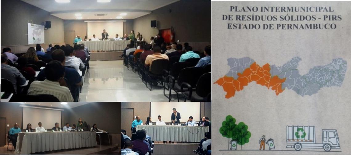 SEMAS entrega Planos Intermunicipais de Resíduos Sólidos a prefeitos do Agreste Meridional e do Sertão do Moxotó