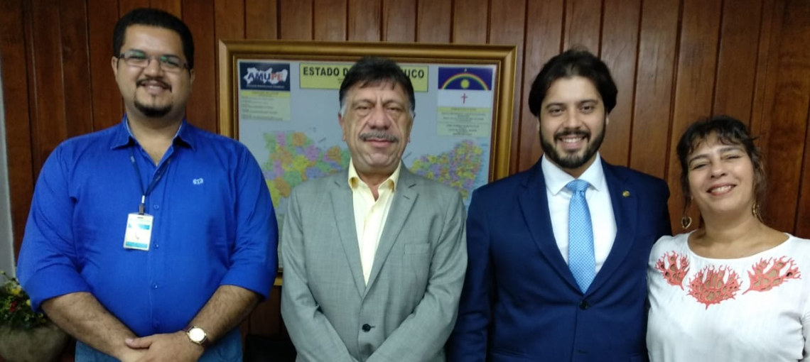 Superintende Regional do INSS visita a Amupe