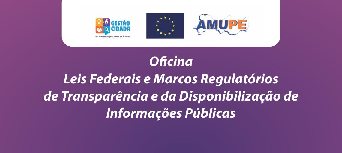 Projeto gestão Cidadã Promove Oficinas no Interior do Estado