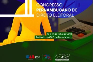 Abertas as inscrições para o II Congresso Pernambucano de Direito Eleitoral
