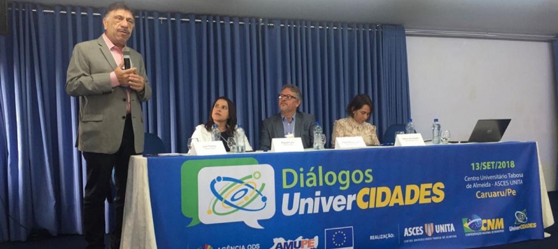 Diálogo UniverCidades traz inovações colaborativas entre instituições de ensino superior e Municípios