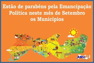Emancipação Política dos municípios do mês de setembro
