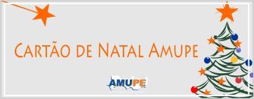Cartão de Natal Amupe