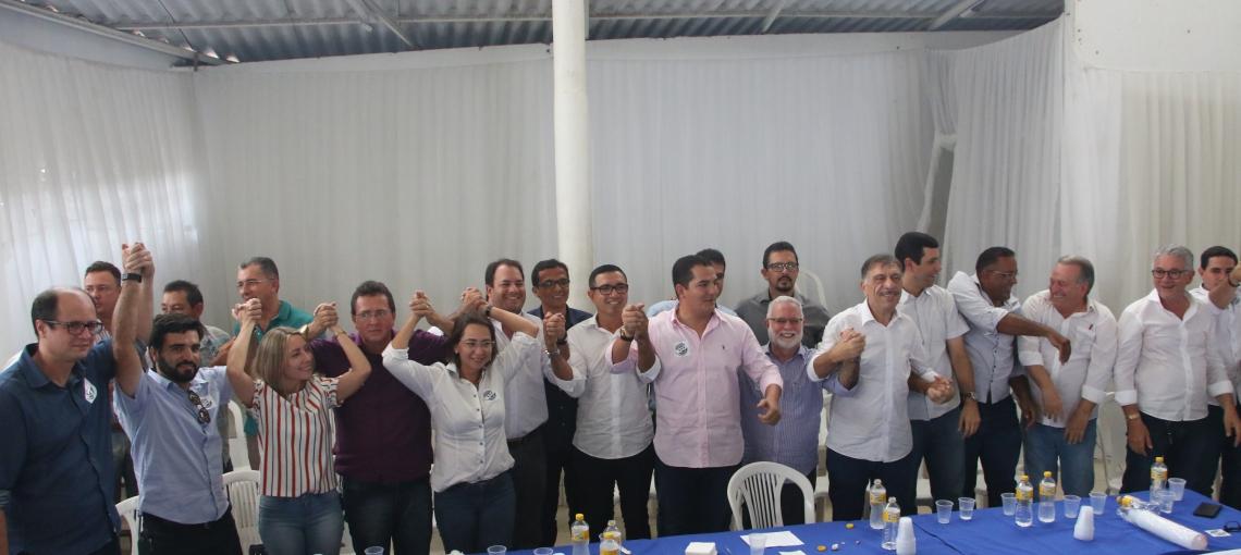 Patriota articula encontro de prefeitos e representantes de segmentos com a bancada federal