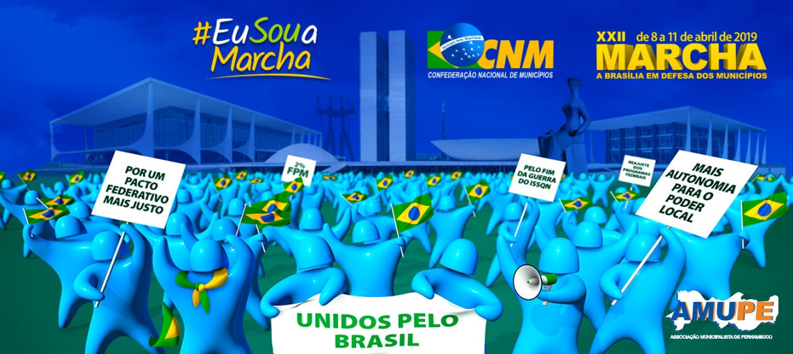 Marcha mobiliza prefeitos pernambucanos