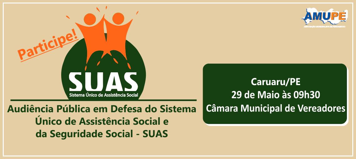 Caravana em defesa do SUAS percorre Pernambuco