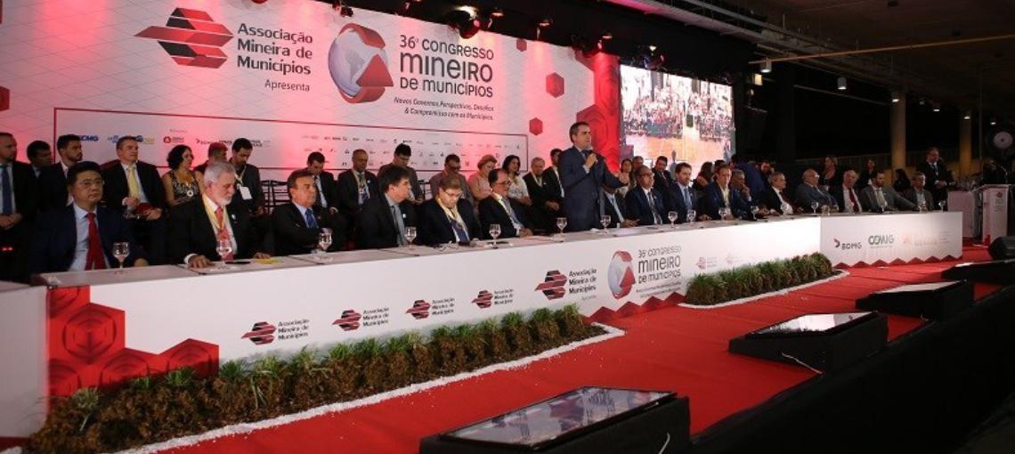 Presidente da Amupe José Patriota participou do 36° Congresso Mineiro