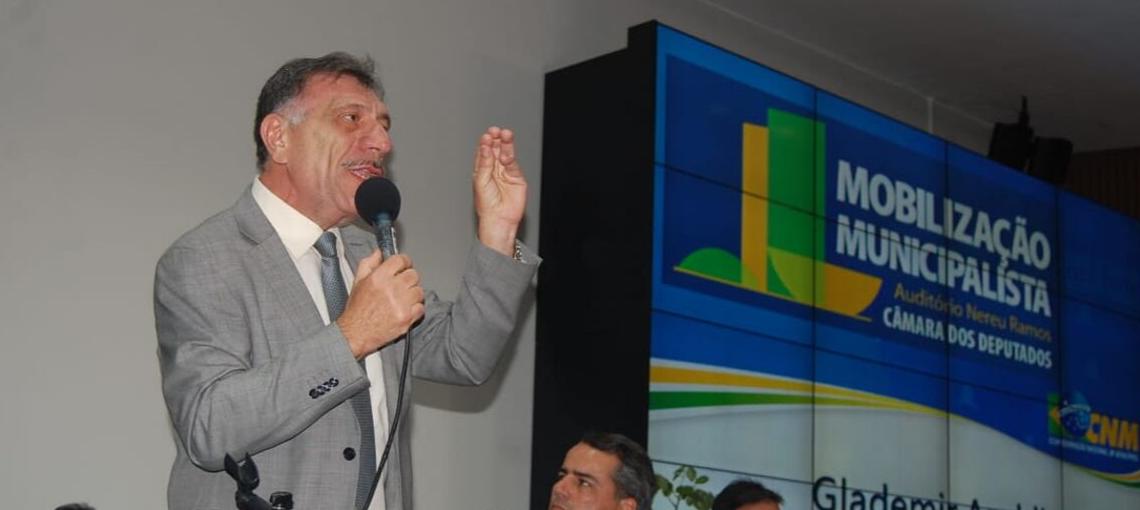 Em Brasília, Amupe participa da Mobilização Municipalista da CNM