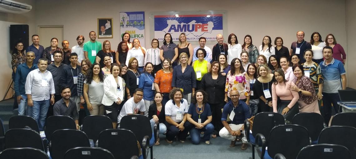 Assistência Social é tema de mais um CNM Qualifica, na sede da Amupe