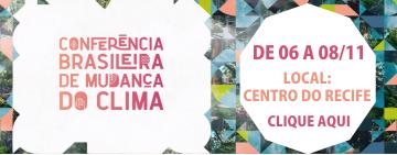 Conferência Brasileira de Mudança do Clima – INSCRIÇÕES ABERTAS