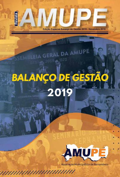 Revista Balanço da Gestão 2019