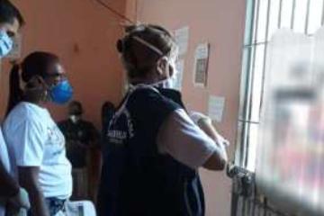 Vigilância em Saúde de Carnaíba realiza atividades na Cadeia Pública