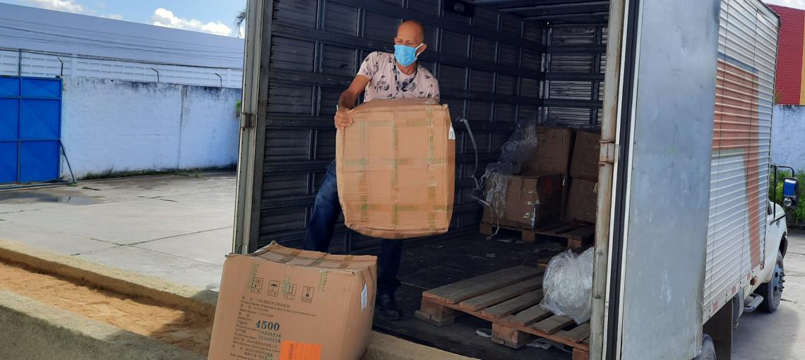 Amupe atinge a marca de 3,5 milhões de EPIs distribuídos