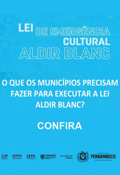 Diagnóstico do Setor Cultural – O que os municípios precisam fazer para executar a lei aldir blanc?
