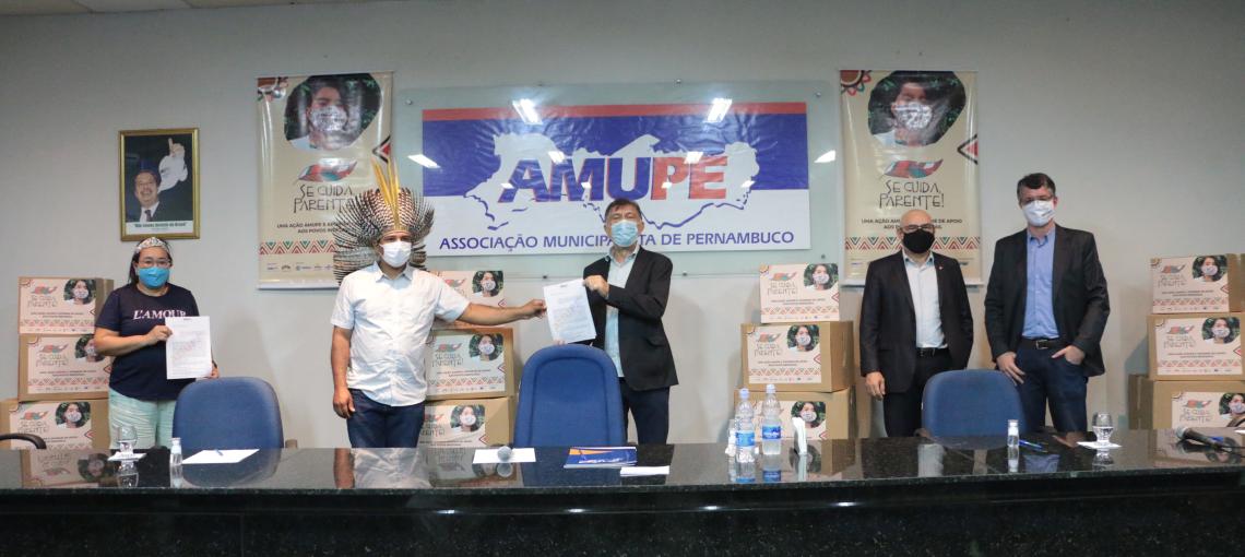 Amupe e Apoinme lançam campanha que arrecada doações para os povos indígenas de Pernambuco