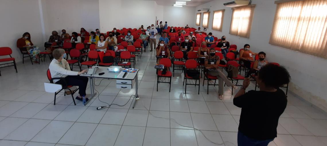 No Sertão, curso da Amupe discute empoderamento do controle social