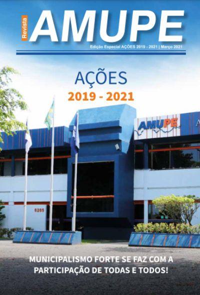 Revista Ações Amupe 2019 – 2021