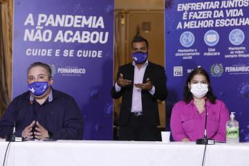 Governo de Pernambuco reunirá prefeitos para avaliar situação da Covid-19 no Agreste