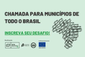 Edital para municípios brasileiros Open Master ON
