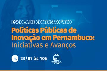 Escola de Contas debate inovação e tecnologia na gestão pública nesta sexta-feira (23)