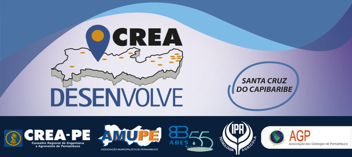 Crea Desenvolve abre inscrições para sua primeira edição, em Santa Cruz do Capibaribe